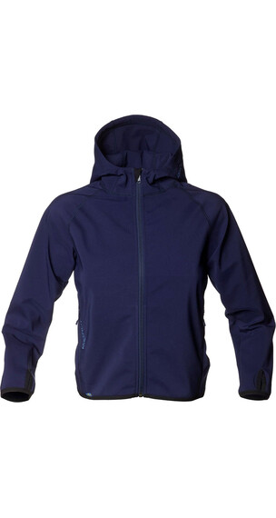 Isbjörn Wind & Rain Bloc Softshell Jacket Junior Dark Navy